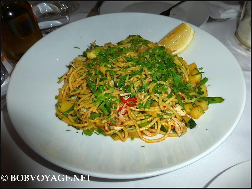 ספגטיני לוקוס ב- בראסרי נורמן (brasserie norman)