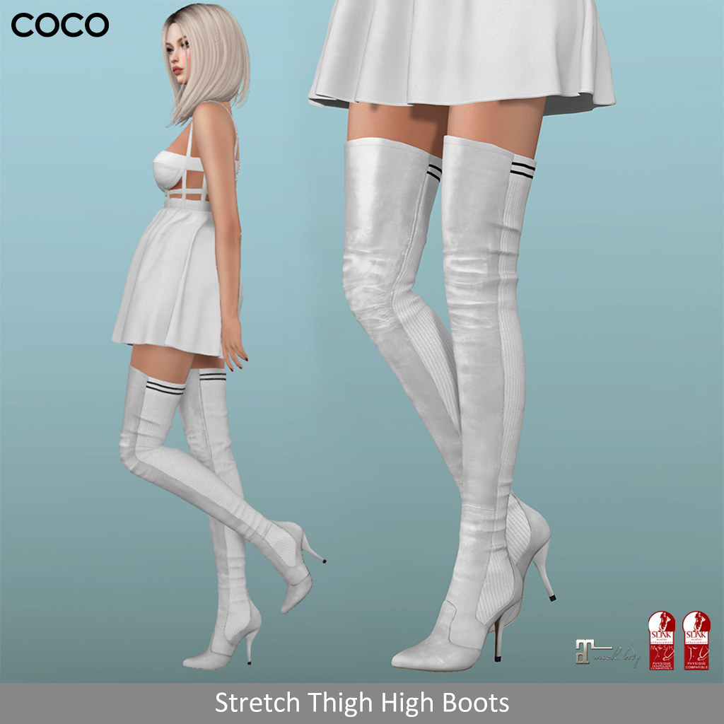 COCO_StretchThighHighBoots_@Uber - SecondLifeHub.com