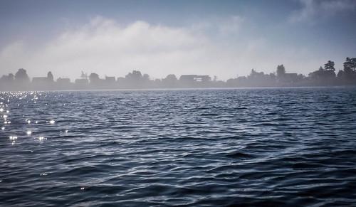 Samish Island Paddling in Fog-42