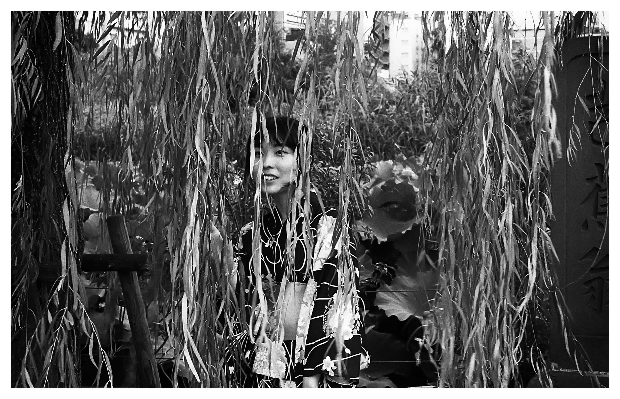 km400_tokyo_uenopark_plantgirl