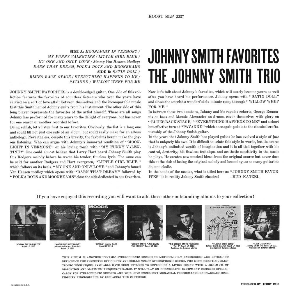 Johnny Smith Favorites