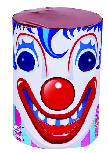 Clown Firework Fountain by Standard Fireworks