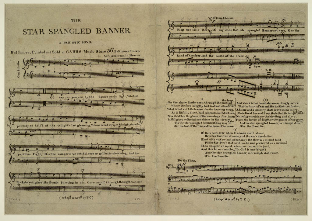 The earliest surviving sheet music of