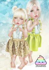 {CuteShit} Peach & Yellow