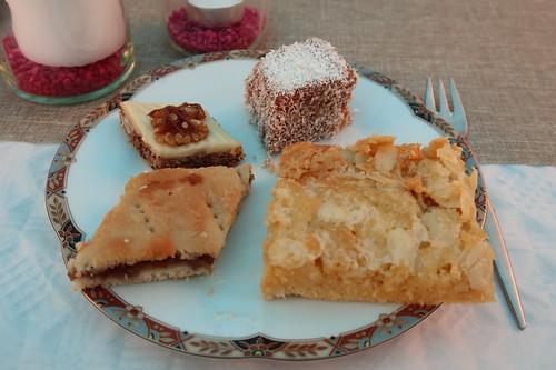 Blitzkuchen und weitere Kuchenstücke