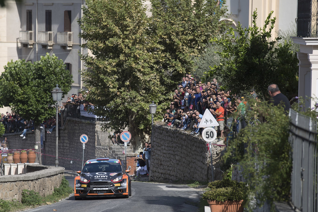 03 LUKYANUK Alexey (RUS) ARNAUTOV Alexey (RUS) Ford Fiesta R5 action during the 2017 European Rally Championship ERC Rally di Roma Capitale,  from september 15 to 17 , at Fiuggi, Italia - Photo Gregory Lenormand / DPPI