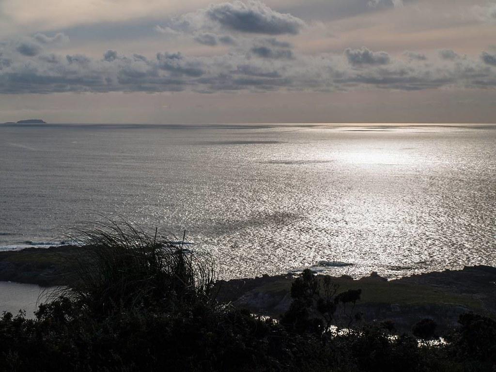 Con la vista en el horizonte. #Coruña #sunset #olympus #photography #mar #ocean
