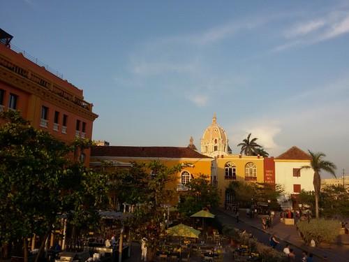 Fim de tarde em Cartagena.