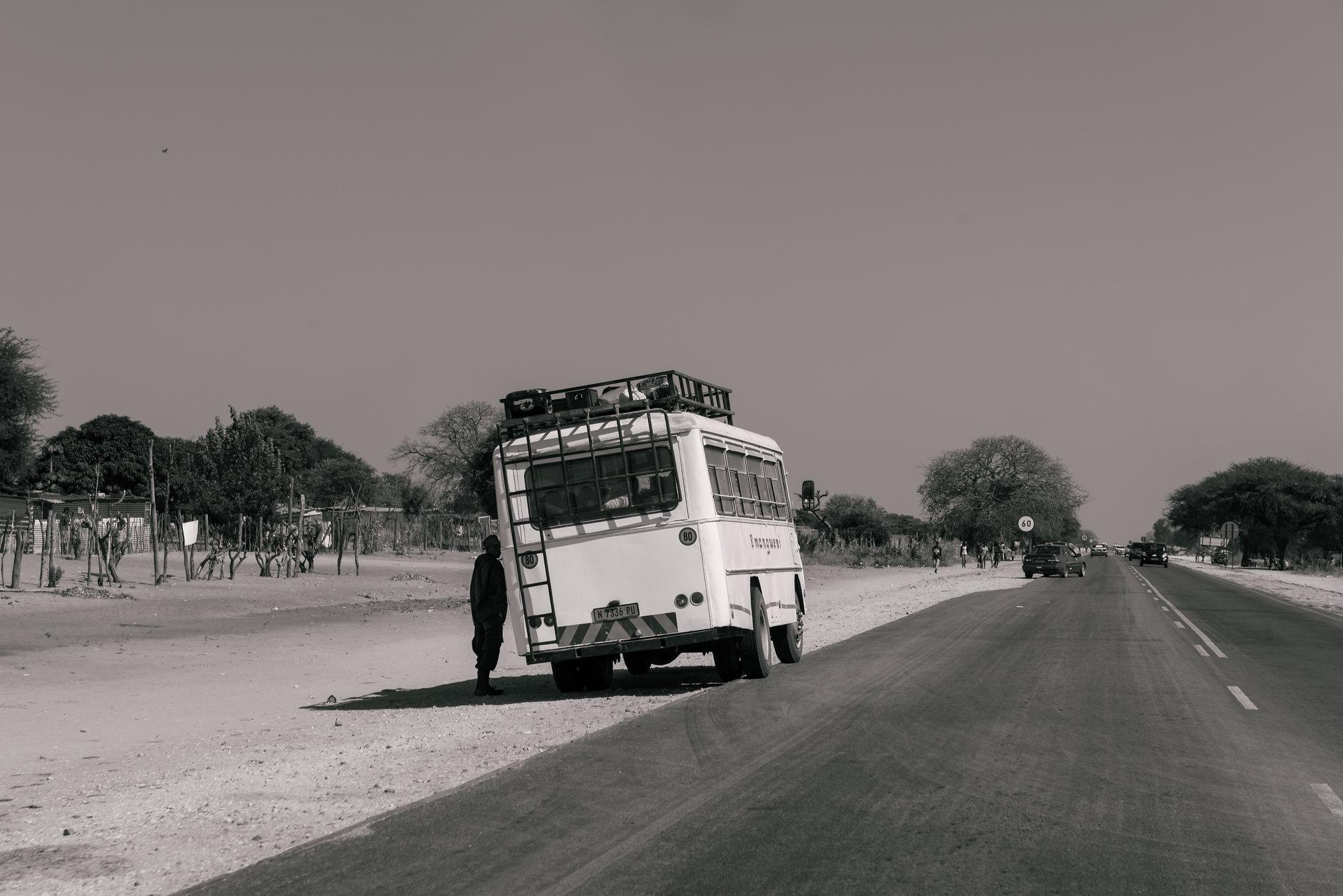 Overland bus