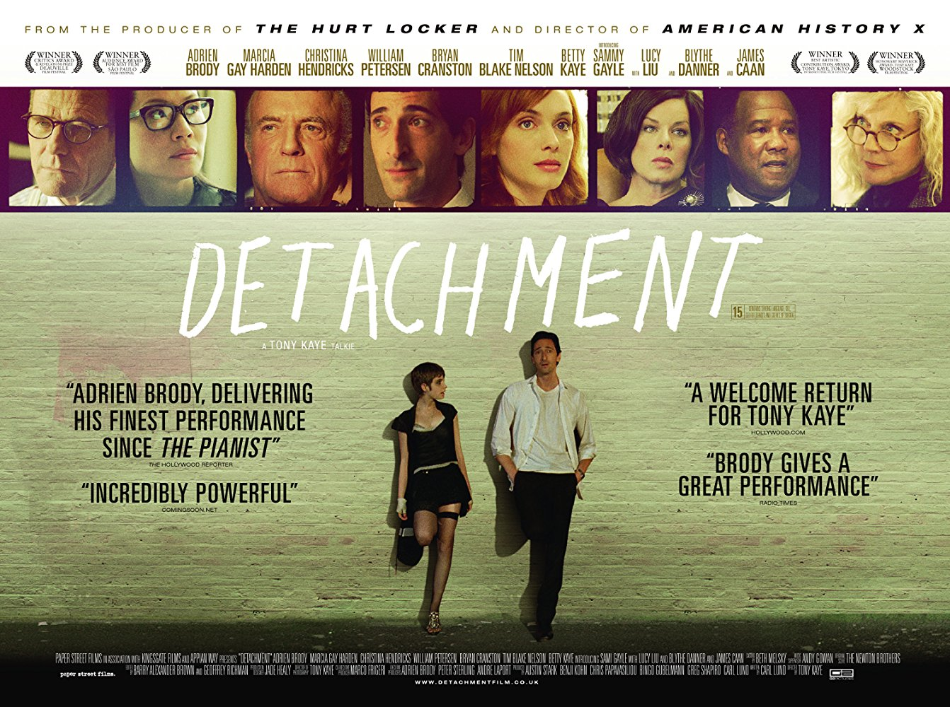 Adrien Brody In «Detachment»