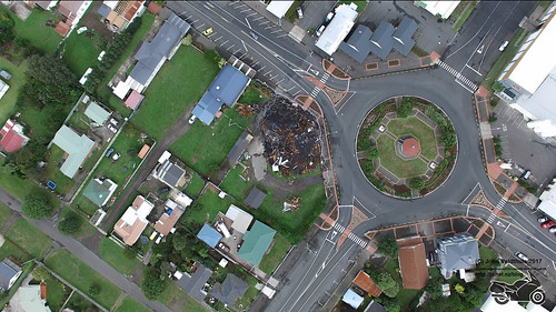Waimate Hotel after Fire