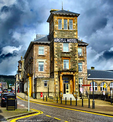 Scotland West Highlands Dunoon the Argyll Hotel 15 August 2017 by Anne MacKay