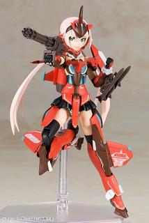 《夢幻之星Online2》x《Frame Arms Girl 骨裝機娘》史蒂蕾特 A.I.S配色(スティレット A.I.Sカラー)
