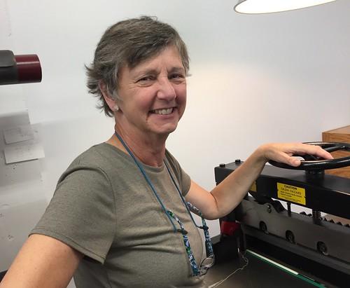 Mary Bahneman founder-owner of Minnesota Book Restoration - Minnesota Book Restoration