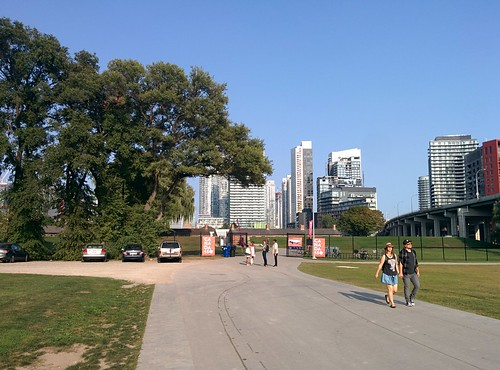 At Fort York underneath the city (11) #toronto #fortyork #skyline #tower #gardinerexpressway
