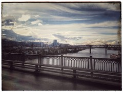 Back to moody Portland for a few days. Rain, we missed ya!
