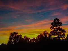 Just happened to be looking out the window. Another nice sunset tonight in Flagstaff using my Samsung Galaxy J-3