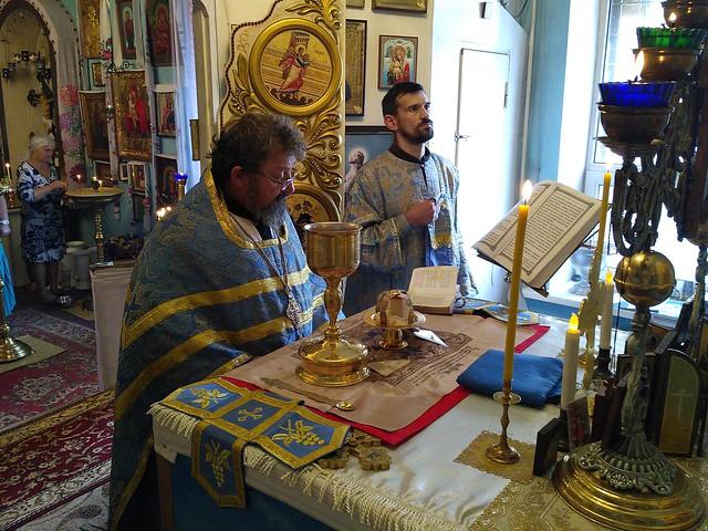 Божественна літургія в день Різдва Пресвятої Владичиці нашої Богородиці і Вседіви Марії 21 серпня 2017 року