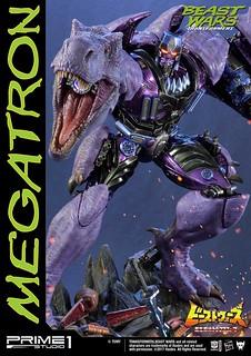 Prime 1 Studio 野獸大戰【恐龍王】ビーストウォーズ 超生命体トランスフォーマー メガトロン Beast Wars Megatron PMTFBW-02 EX