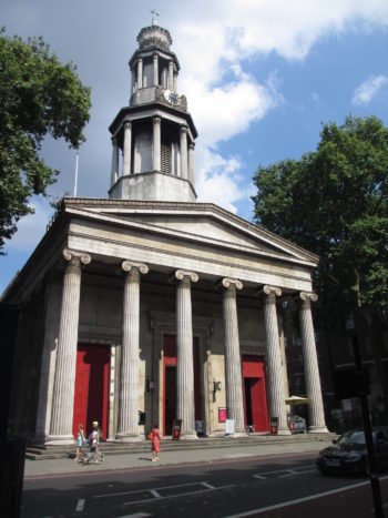 King of Prussia Gold Medal - St Pancras church