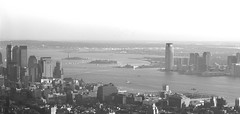 HUDSON RIVER, Goldman Sachs & Co TOWER SINCE EMPIRE STATE BUILDING TOP