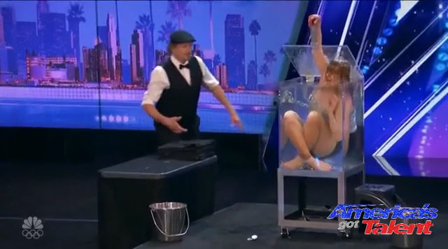 Dayle Krall aka The Houdini Girl on America's Got Talent