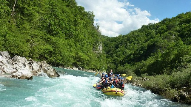 Neretva river is the most famous for rafting