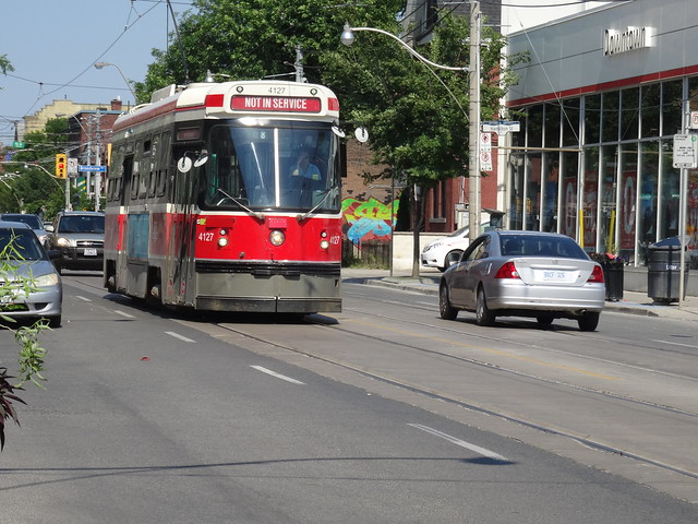 Out of service streetcar, Sony DSC-HX50V