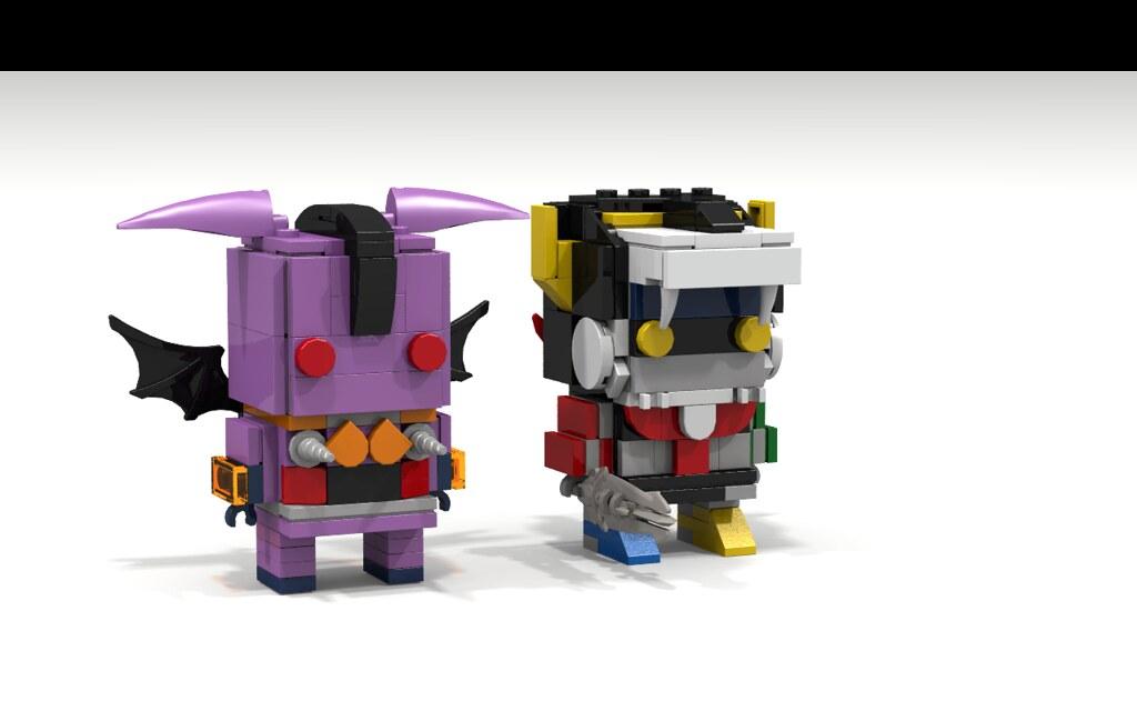 Voltron and Bat Robeast Brickheadz