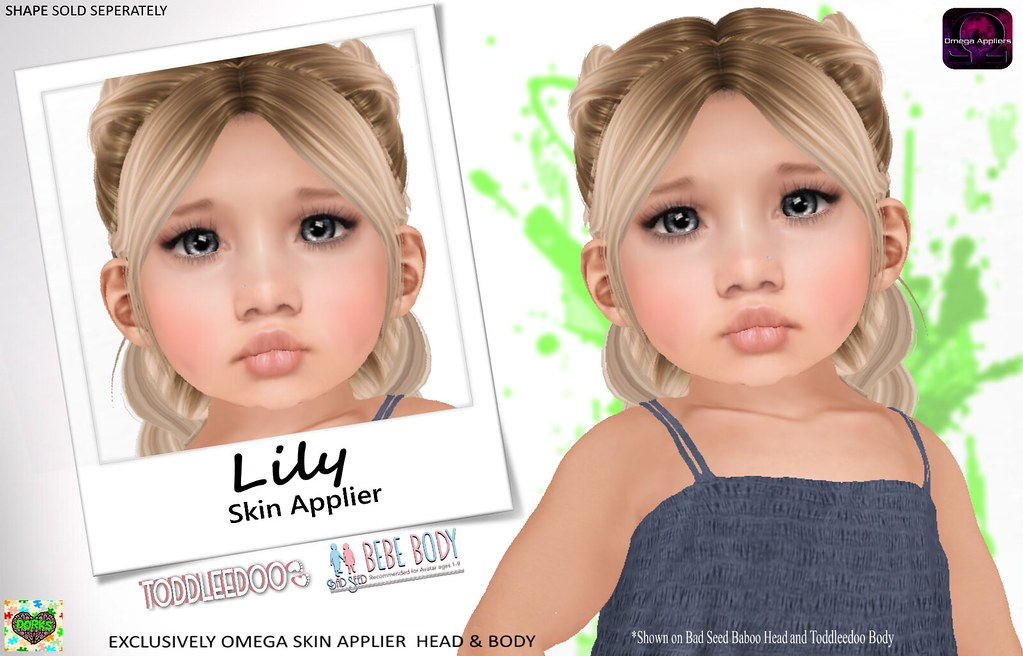 **DoRks** Lily Skin @ Little Wardrobe - SecondLifeHub.com