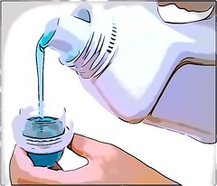 Mix Fabric Softener with Water