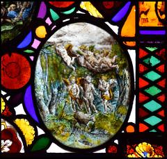 Six angels and a lamb for St John the Baptist
