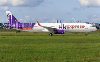 Airbus A321 Hong Kong Express D-AVZH / MSN 7872 B-LEG