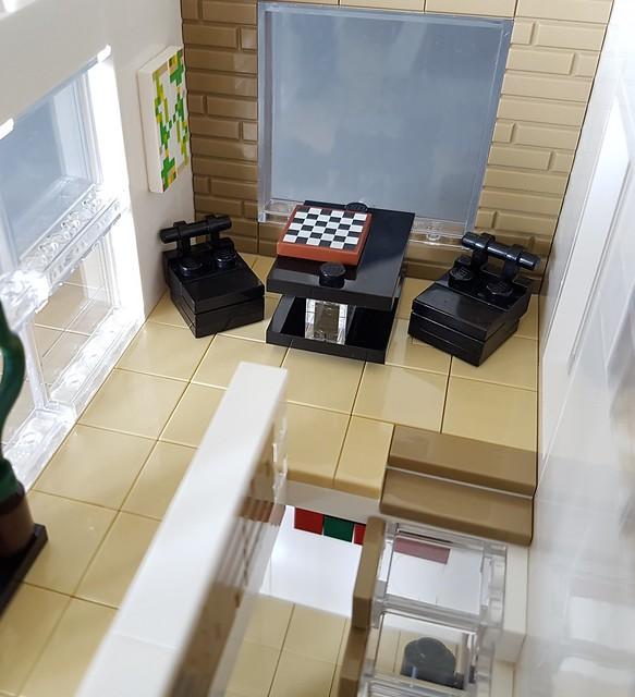 Whitebrick Sand House MOC gaming corner IV