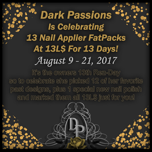 Dark Passions - 13th RezDay Sale - SecondLifeHub.com