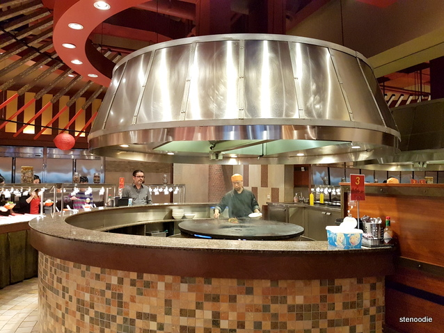 Genghis Khan Mongolian Grill grill