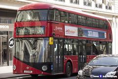 Wrightbus NRM NBFL - LTZ 1194 - LT194 - Piccadilly Circus 38 - Arriva - London 2017 - Steven Gray - IMG_6090