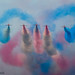 Red Arrows by Iain A Wanless