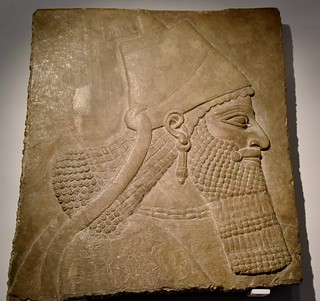 Relief from the palace of the Assyrian king Assurnasirpal II at Nimrud, 9th cent. BCE, Ny Carlsberg Glyptotek, Copenhagen (3)