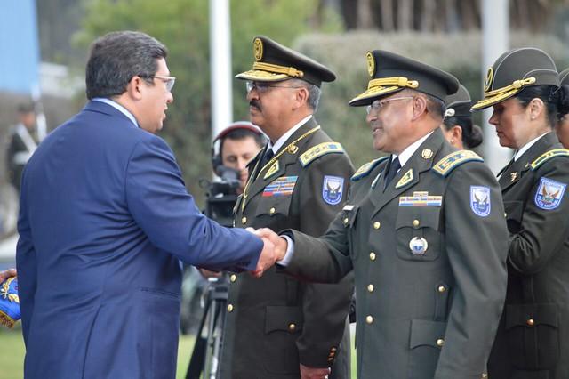 Policía entregó a la ciudadanía 129 oficiales de servicio en administración, justicia e intendencia