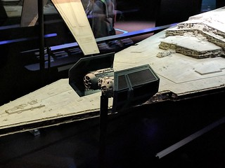 Vader's TIE and Star Destroyer Models
