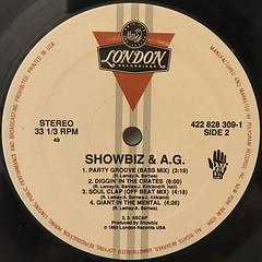 SHOWBIZ & A.G.:PARTY GROOVE(LABEL SIDE-B)