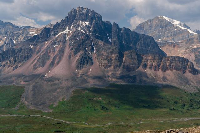 the view from jonas shoulder, jasper national park, alberta, canada