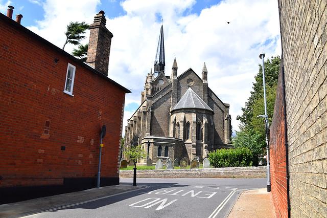 Woodbridge St John, the urban context