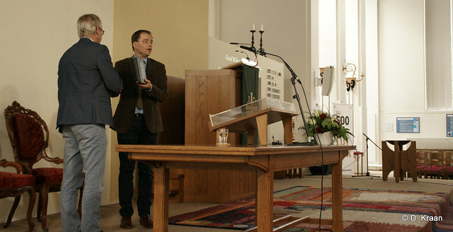 Opening 'Van oog tot woord' tentoonstelling Jozefkerk