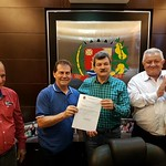 Paulinho da Força visitou Ariranha e Pindorama, neste sábado