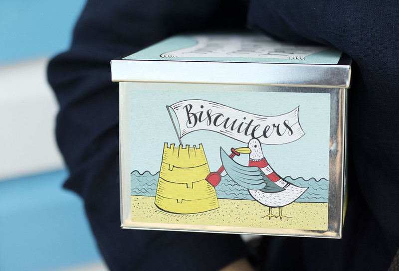 Biscuiteers Tin Seaside Biscuits