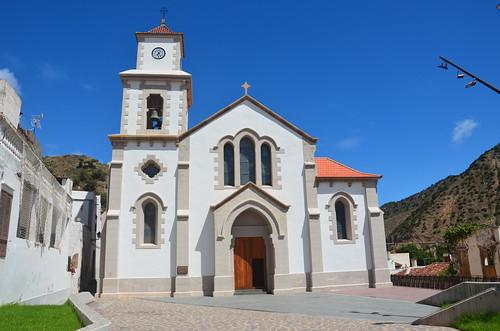 Die Kirche von Vallehermoso