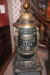 "Round Oak ""Monitor"" heating stove"