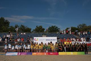 Beach Handball Finals Women